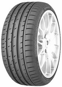 Continental 245/45R19 CONTISPORTCONTACT 3 98 W FR * SSR